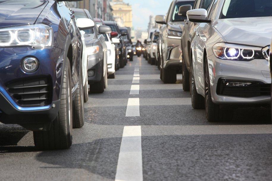 Более 350 тыс. автомобилей покинули Москву 10-12 апреля