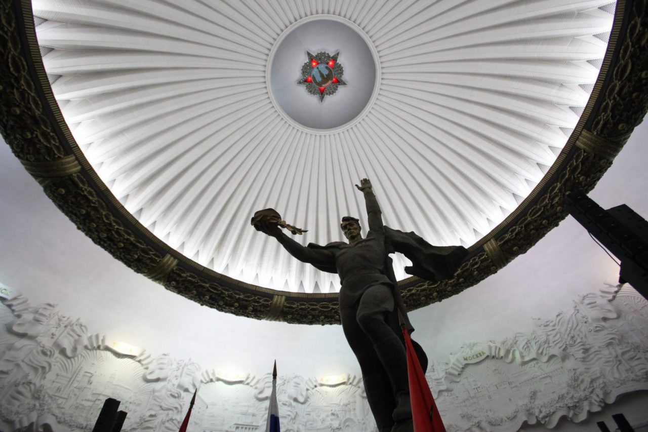 В Музее Победы воссоздали библиотеку блокадного Ленинграда