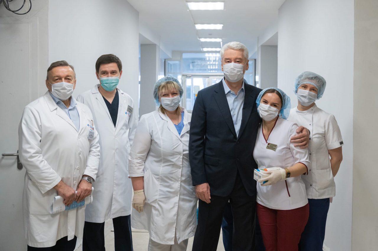 Москва мобилизует все необходимые мощности для борьбы с коронавирусом — Собянин