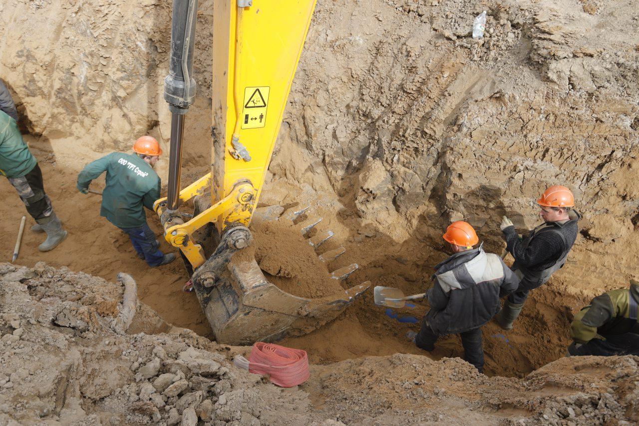Началось строительство установки для дезинфекции канализационных стоков инфекционной больницы в Новой Москве