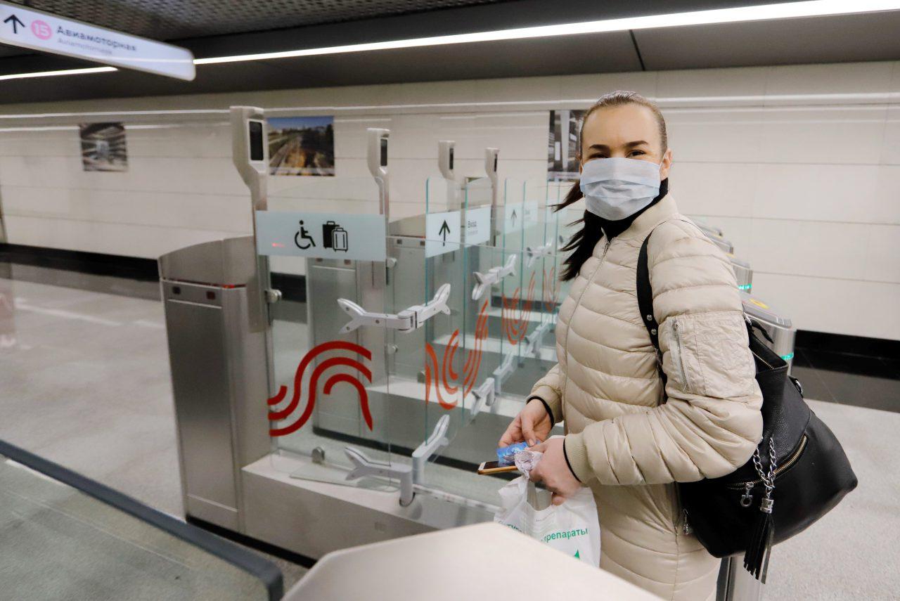 В Москве появятся медицинские маски с функцией измерения температуры