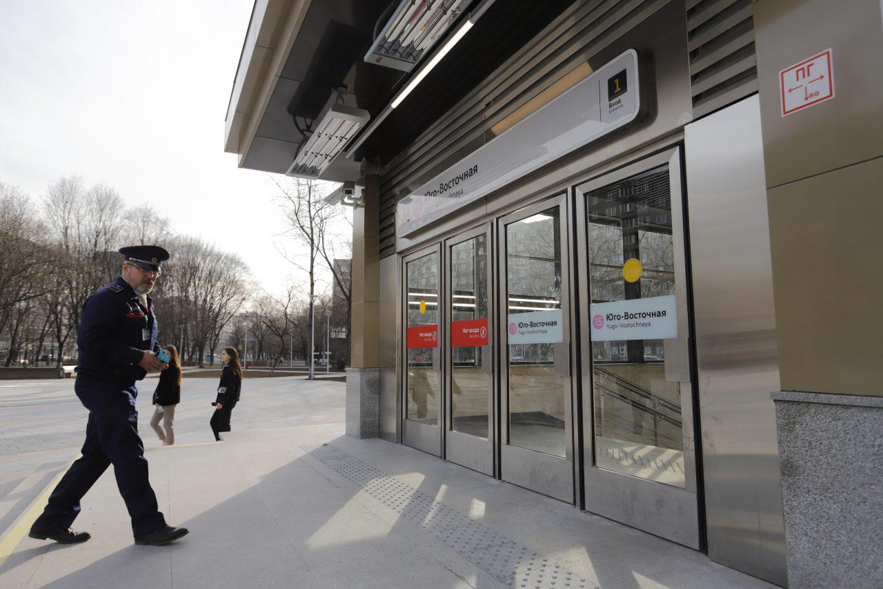 Движение на участке Филевской линии метро в Москве восстановили