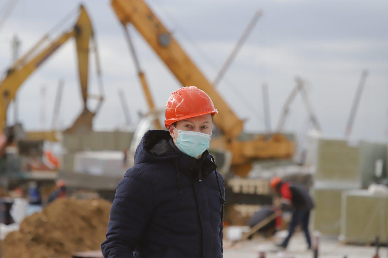 Дополнительные санитарные нормы введены на стройплощадках Москвы