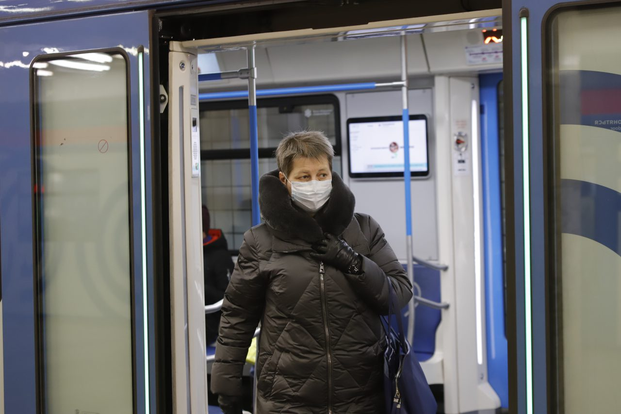 В московском метро будет введен масочный режим