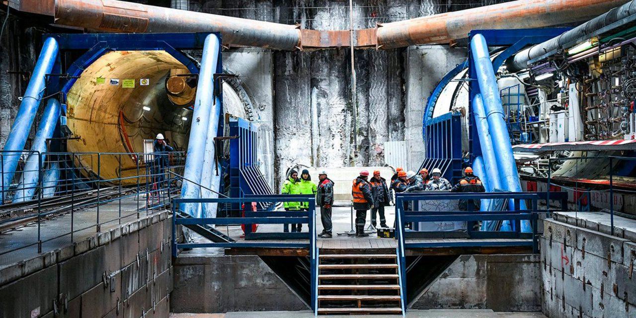 Строители московского метро установили мировой рекорд