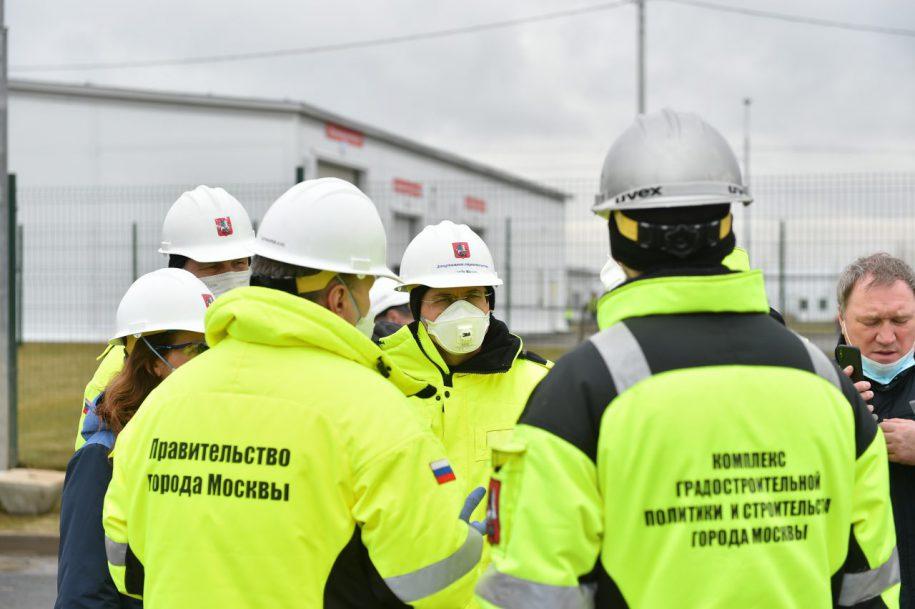 Промышленность и строительство в Москве возобновляют работу с 12 мая