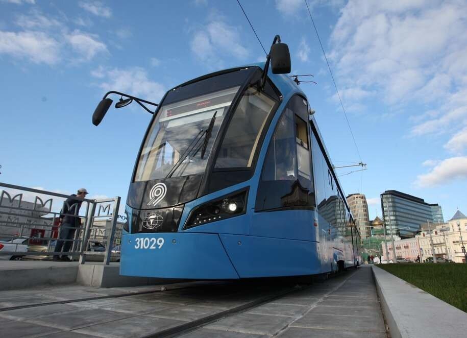 Впервые низкопольные трамваи начнут курсировать в центре города