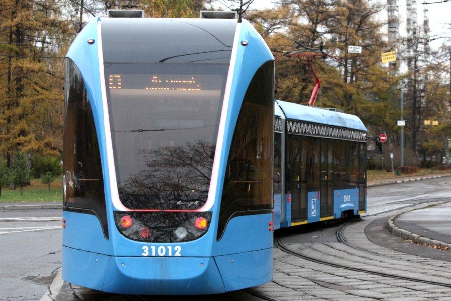350 трамваев «Витязь-Москва» работают на столичных маршрутах