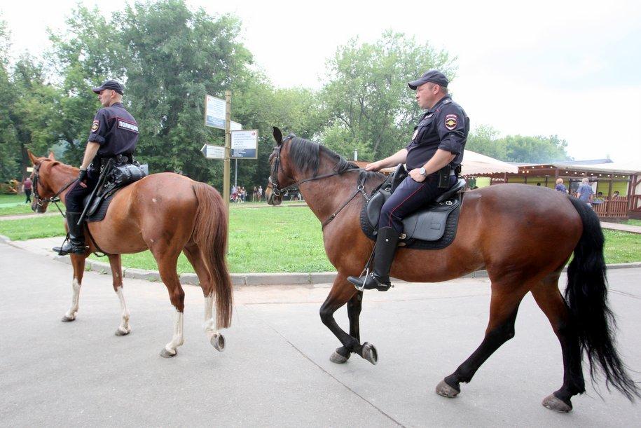 На столичных улицах увеличили количество патрулей