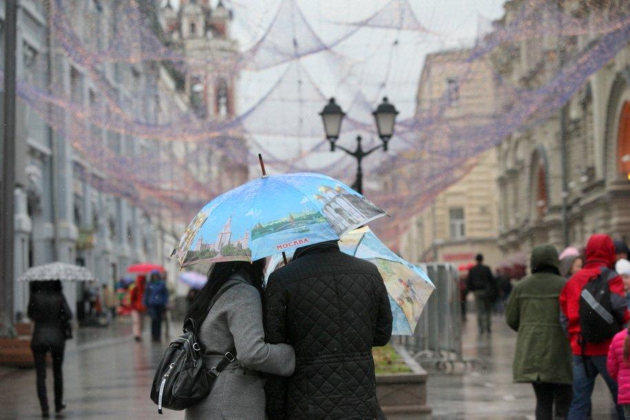 Минувший четверг в Москве стал самым холодным днем с начала мая