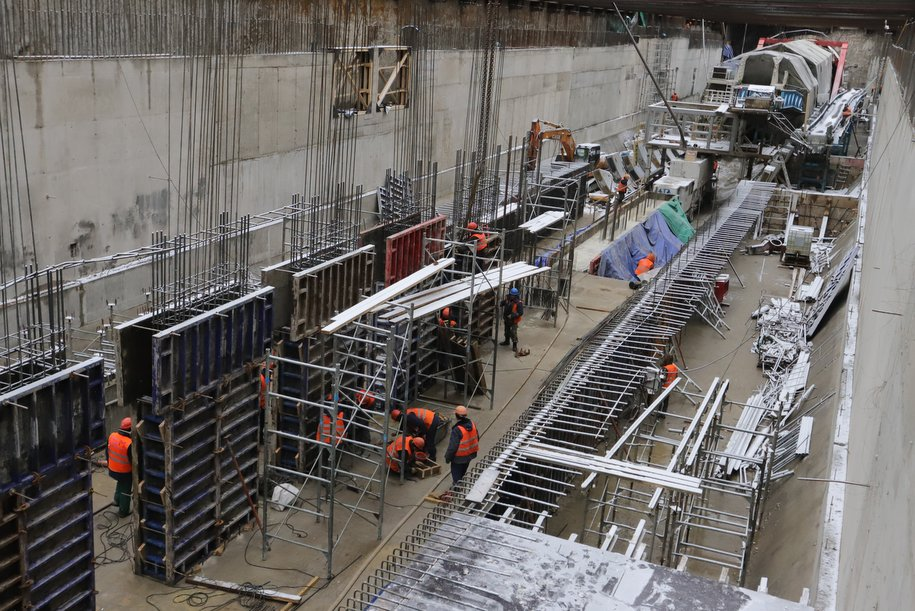 Станцию метро «Печатники» на БКЛ построят в 2022 году