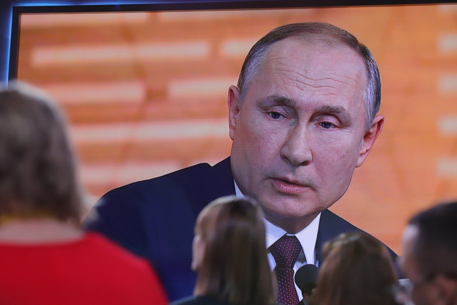 Владимир Путин сегодня выступит с обращением к гражданам России