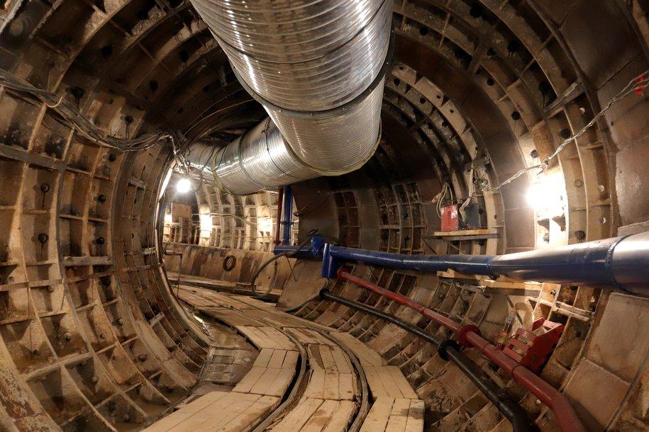 Строительство тоннелей БКЛ планируют завершить через год