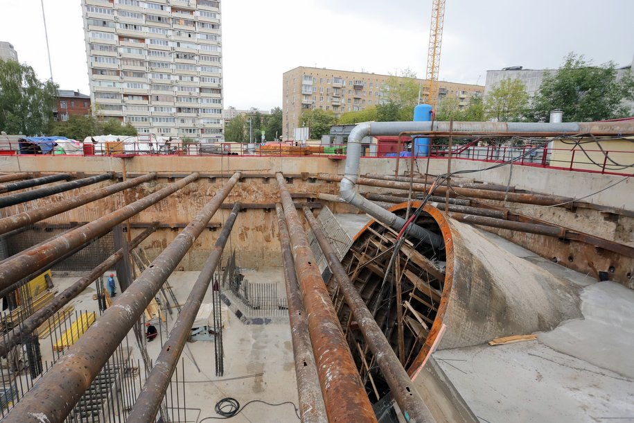 За 4 года в Москве построят 105 км линий метро