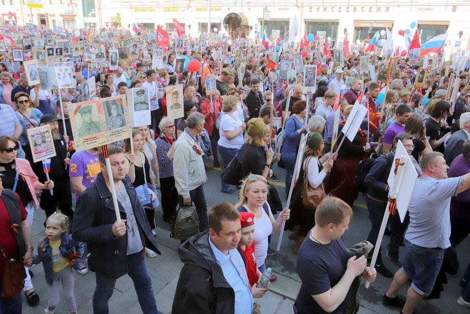 Президент РФ предложил провести марш «Бессмертного полка» 26 июля