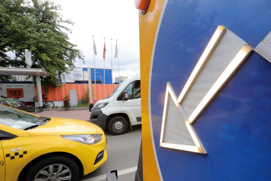 Количество поездок на такси в Москве сократилось в 2 раза