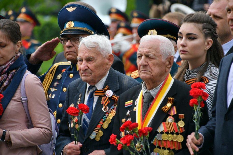 Сергей Собянин поздравил москвичей с Днём Победы