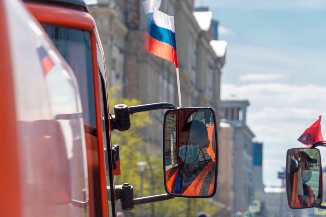 Сегодня в Москве пройдёт очередная дезинфекция дорог и общественных пространств