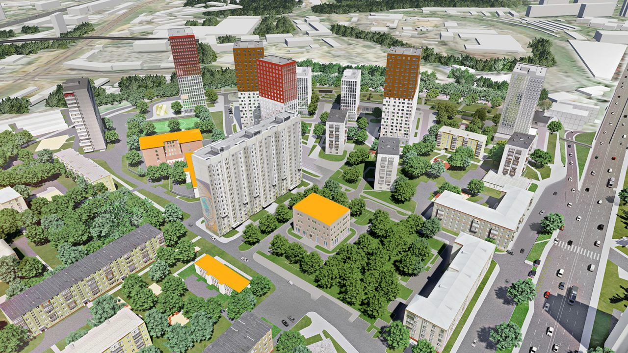 Восемь жилых домов построят в Донском районе по реновации