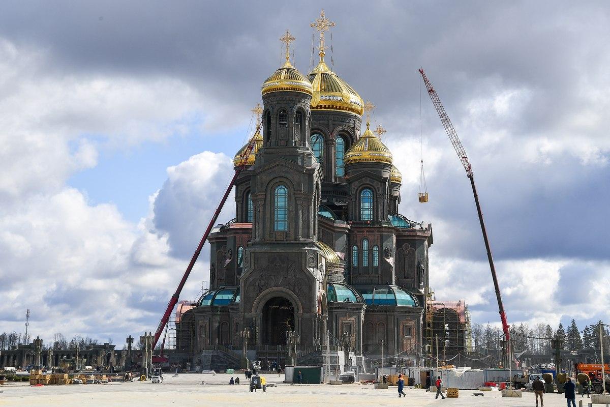 В Подмосковье завершилось строительство главного храма Вооружённых сил