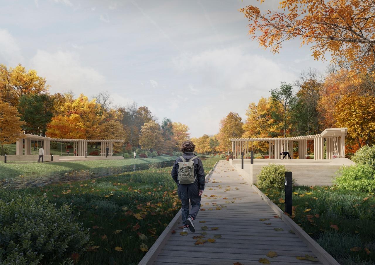 Парк «Яуза» соединит Москву с областью в 2021 году