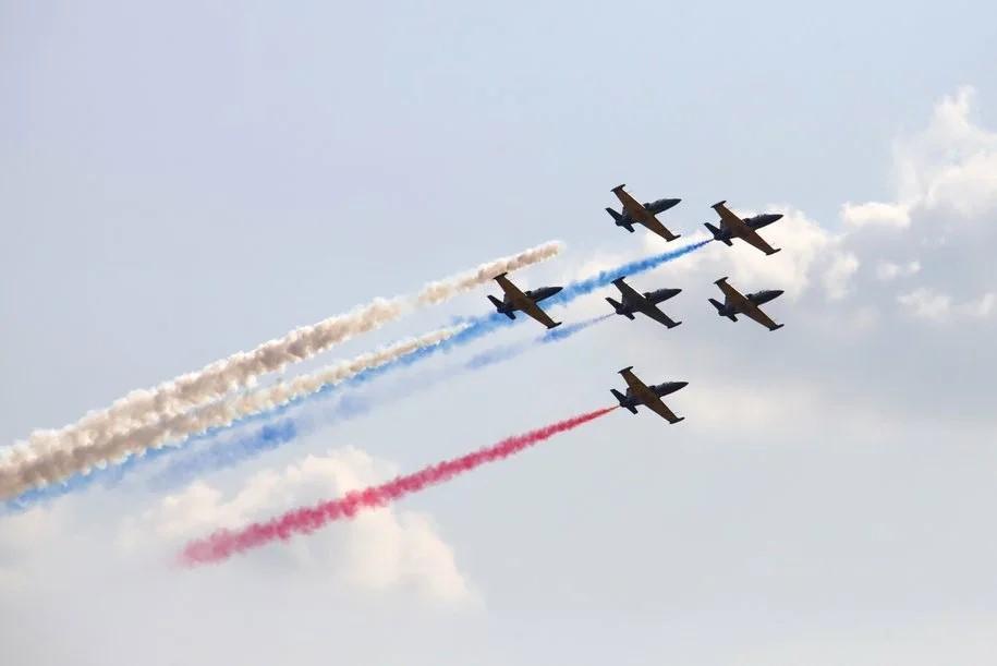 Сегодня в Москве состоится репетиция воздушной части парада Победы