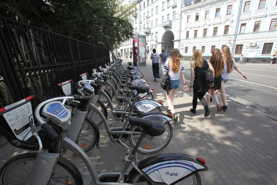 Более 1,3 млн поездок совершили на велосипедах городского проката с начала сезона