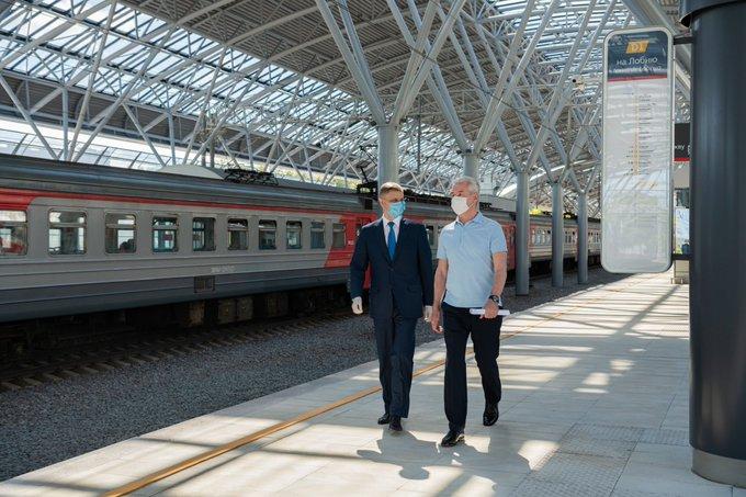 Более 3,6 тыс. пассажиров воспользовались станцией МЦД-1 «Славянский бульвар» в первый день ее работы