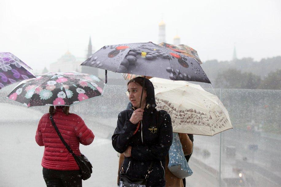 В Москве ожидается пасмурная погода с неустойчивыми прояснениями
