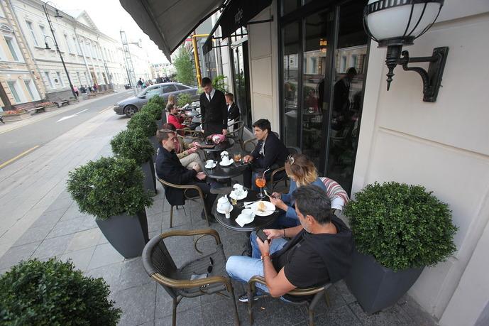 Летние веранды кафе и ресторанов откроются с 16 июня