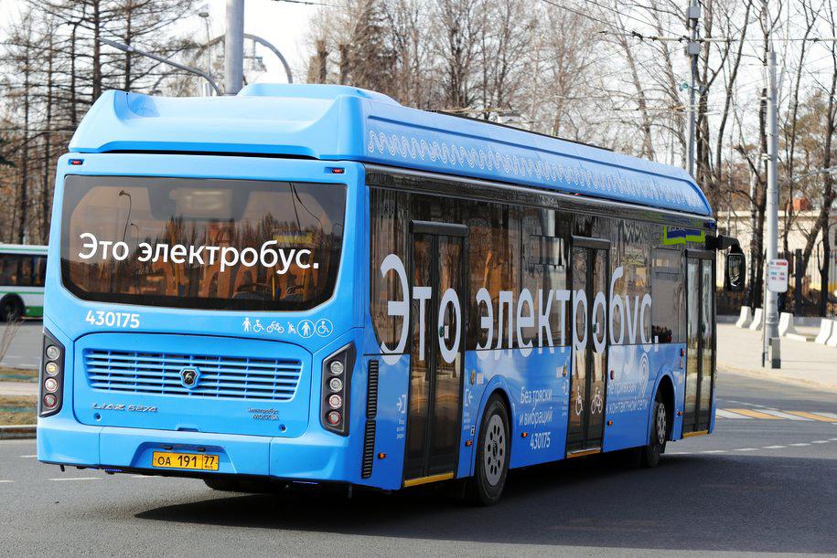 Электробусы вышли на маршрут Т21