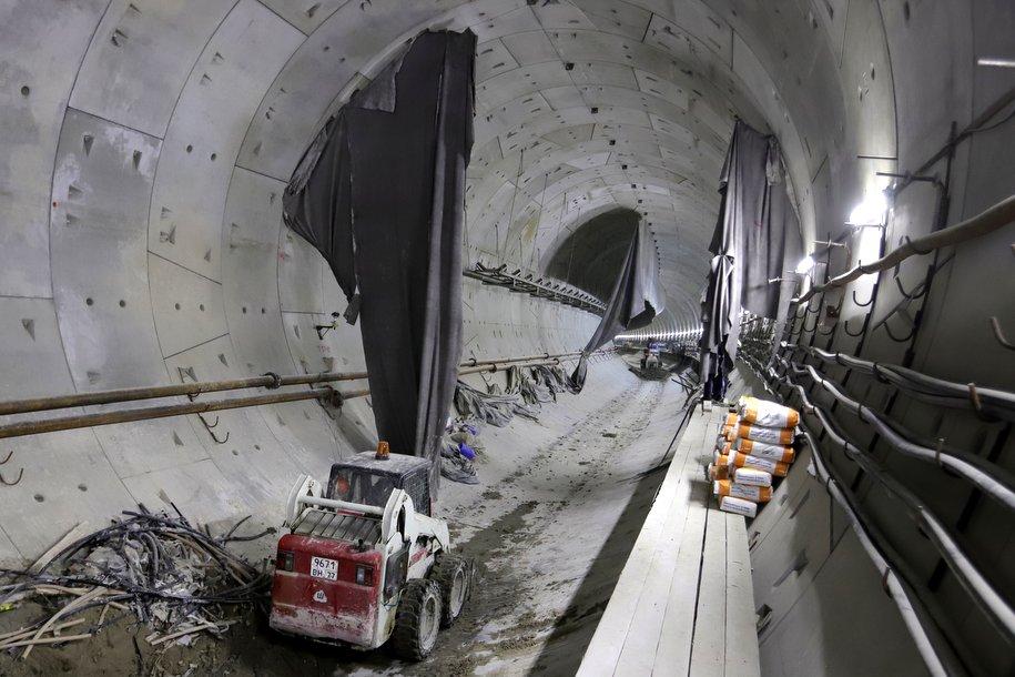 Сергей Собянин: Строительная готовность Большой кольцевой линии метро составляет 54%