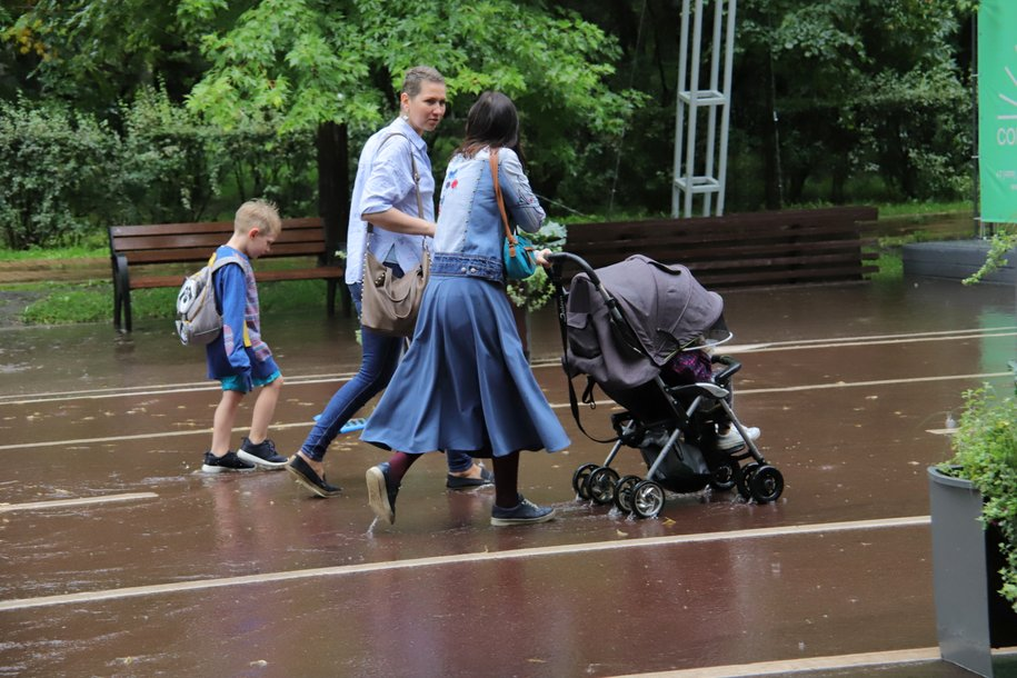 Еще четверть месячной нормы осадков может выпасть в Москве во вторник