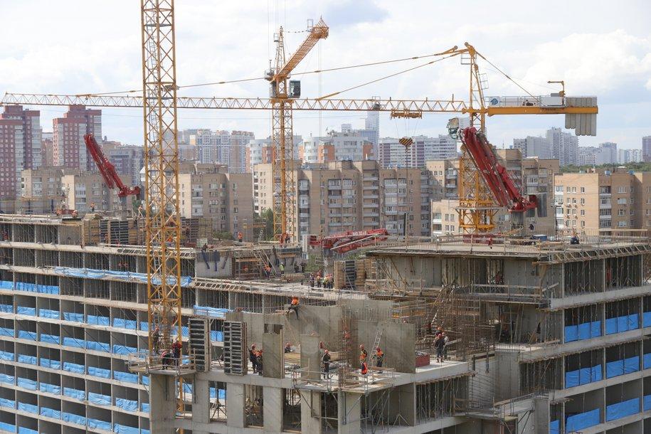 На Профсоюзной улице завершается строительство дома по программе реновации