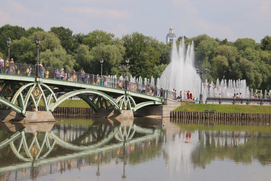 Вода в ряде водоемов Москвы в понедельник прогрелась до 20 градусов