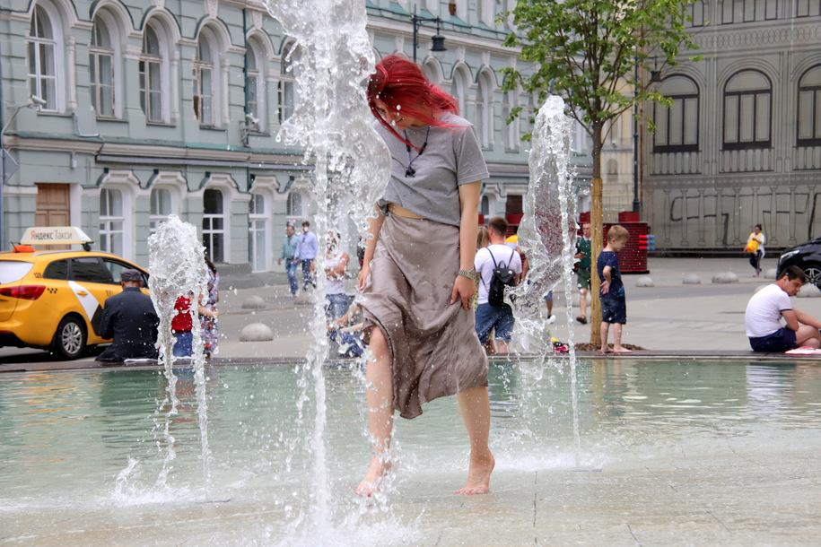 Резкое похолодание ожидает москвичей в выходные