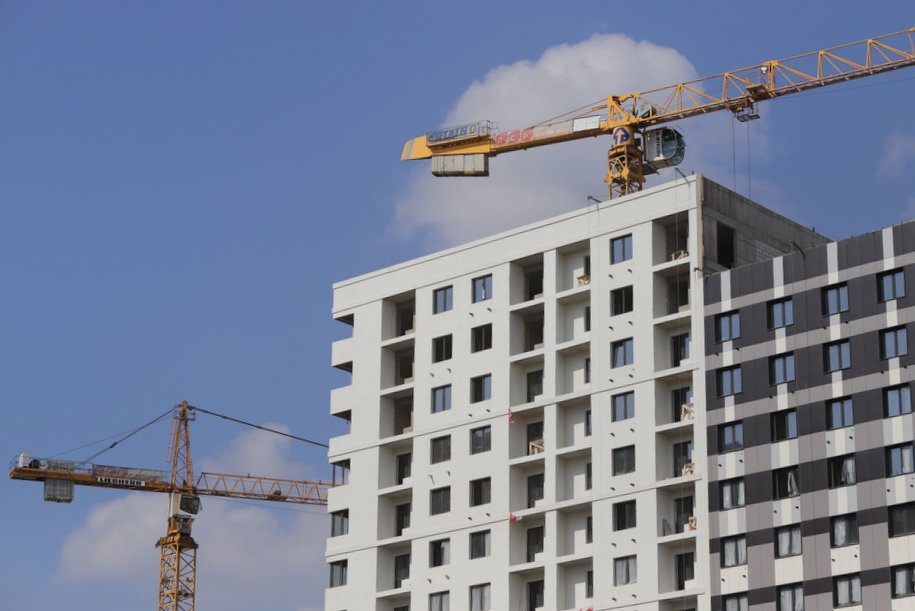 Объёмы строительства наверстаем до конца года — Собянин