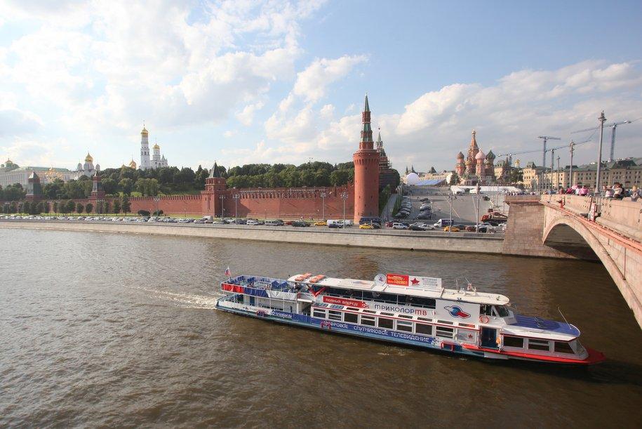 Возобновилась пассажирская навигация по Москве-реке