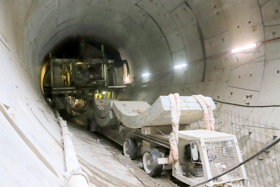 Тоннель между станциями «Кунцевская» и «Давыдково» строят с опережением графика