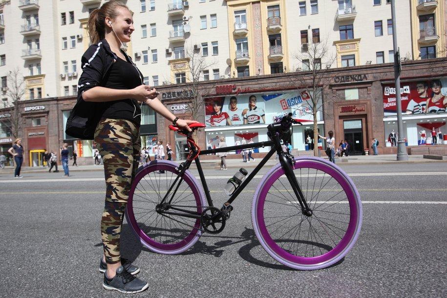 Заявку на ремонт велосипедов и станций городского проката можно оставить в приложении «Помощник Москвы»