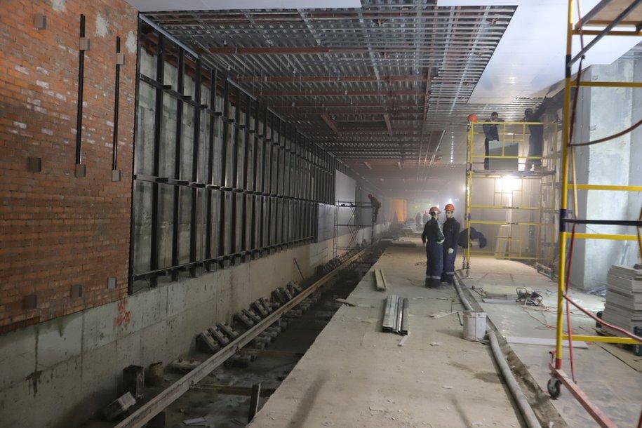 Большая кольцевая линия метро построена больше чем на 50%