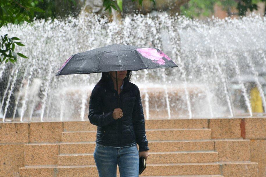 Сегодня в Москве ожидаются кратковременные дожди и грозы