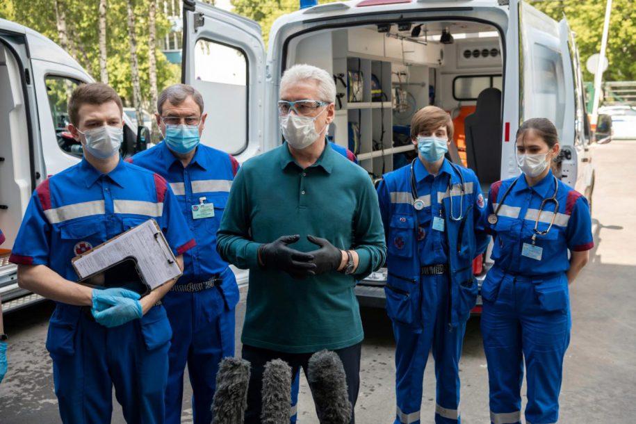 Сергей Собянин поздравил медиков с профессиональным праздником