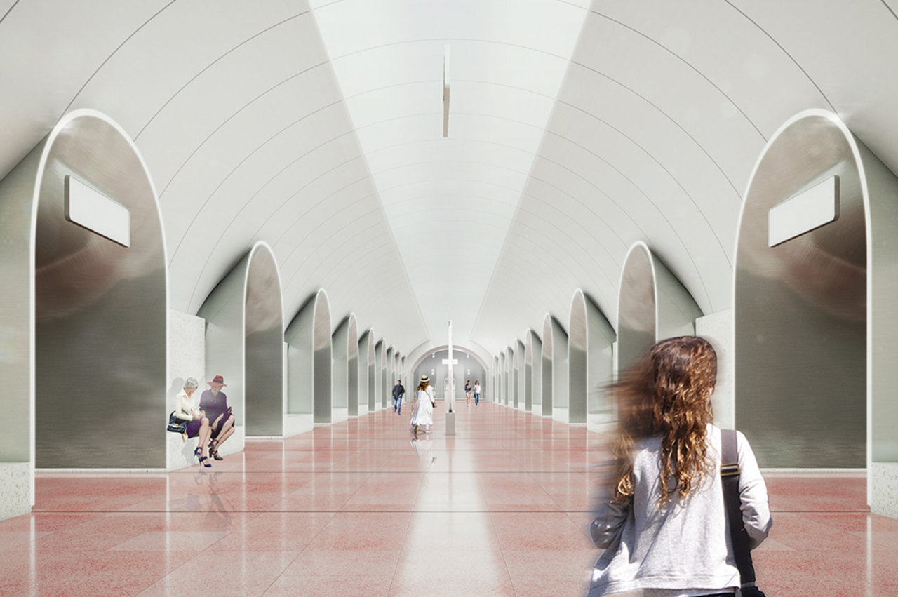 Станция «Рижская» БКЛ метро войдёт в состав крупнейшего ТПУ