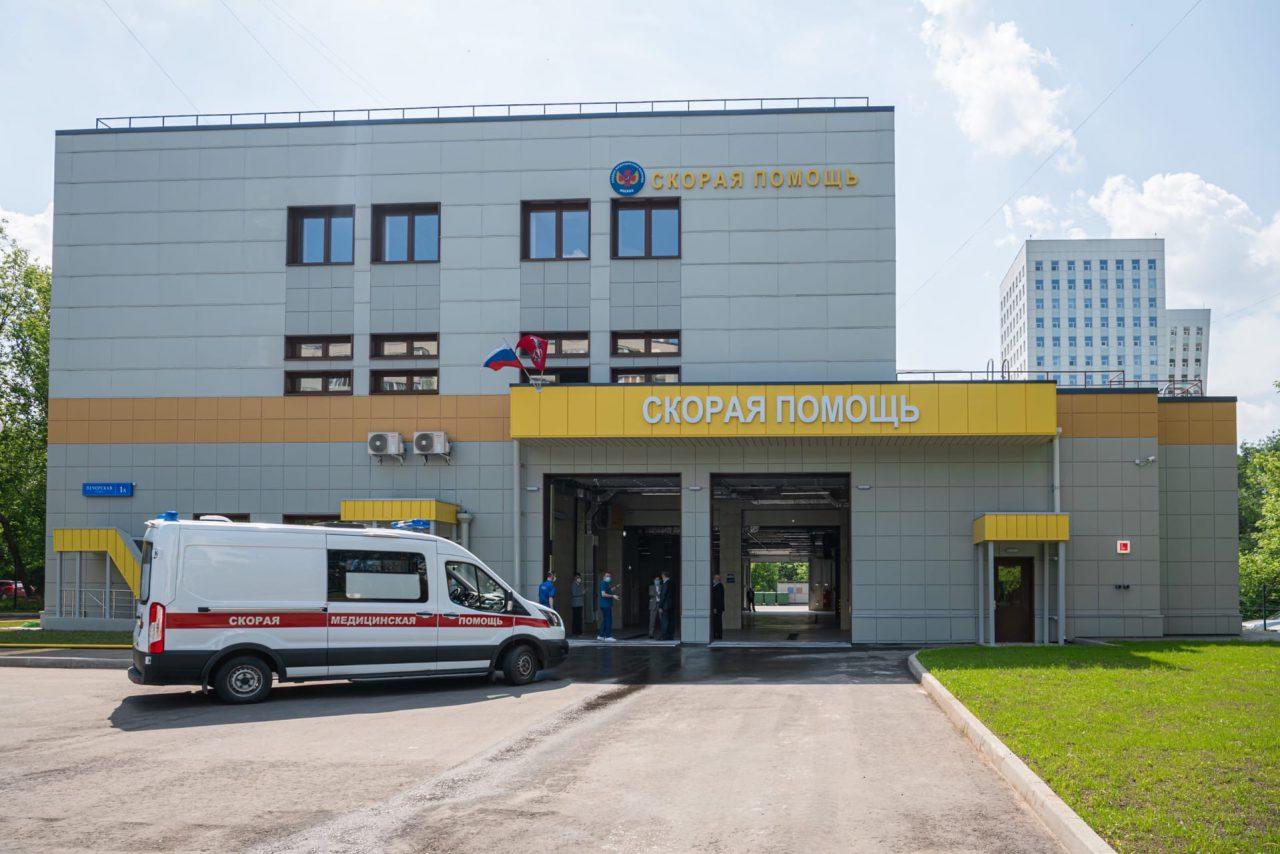В августе откроется новый корпус подстанции скорой помощи № 17