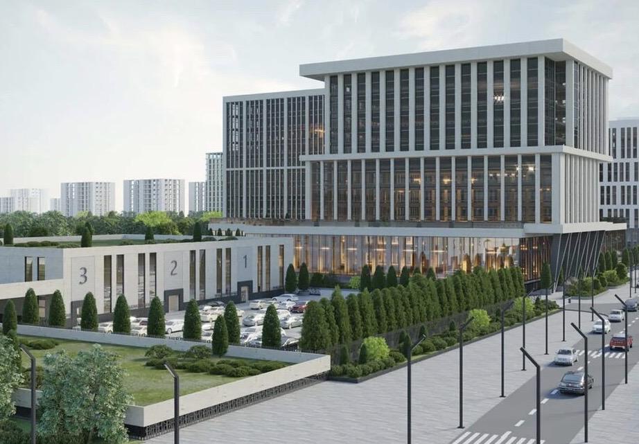 На Автозаводской улице возведут многофункциональный комплекс с «зеленой» кровлей
