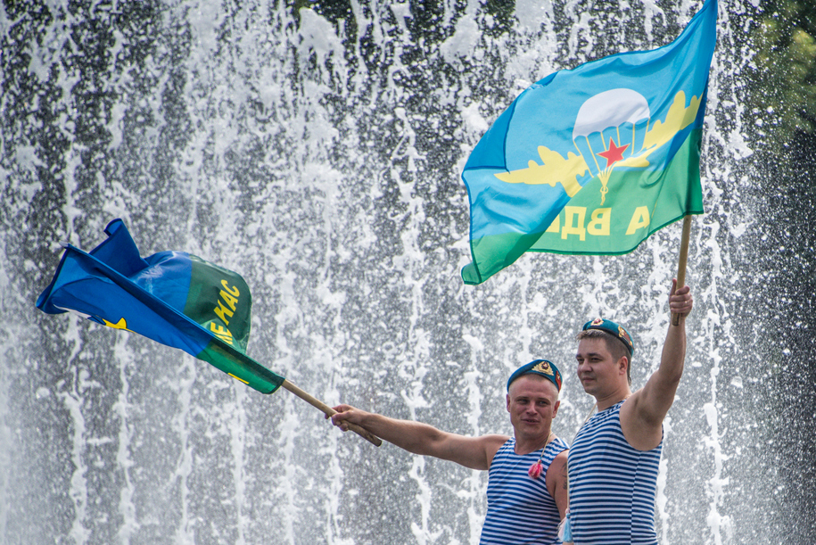 Движение в центре Москвы ограничат 2 августа из-за празднования Дня ВДВ