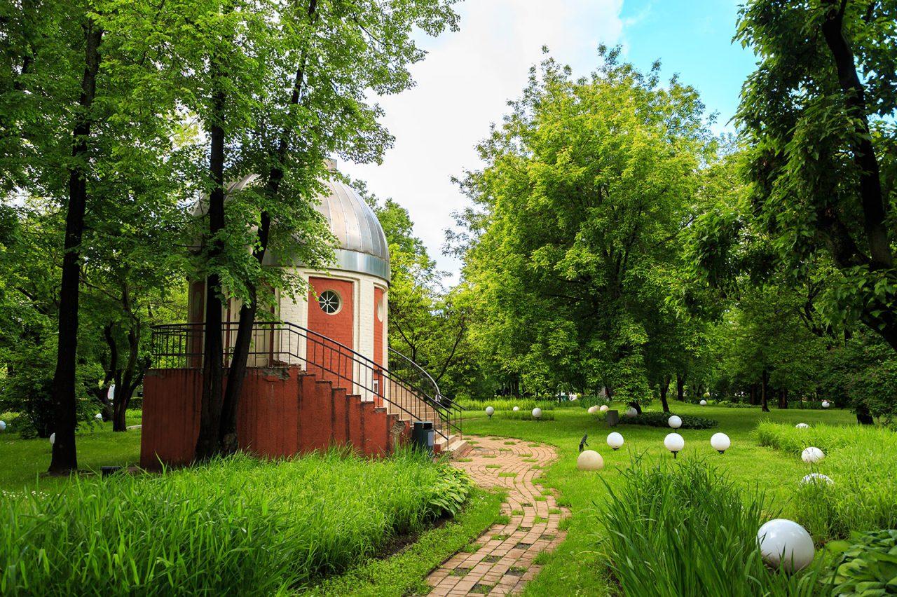 Народную обсерваторию в Парке Горького отреставрируют