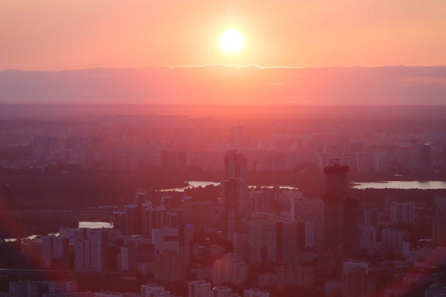 «Жёлтый» уровень погодной опасности объявлен в Москве из-за тумана