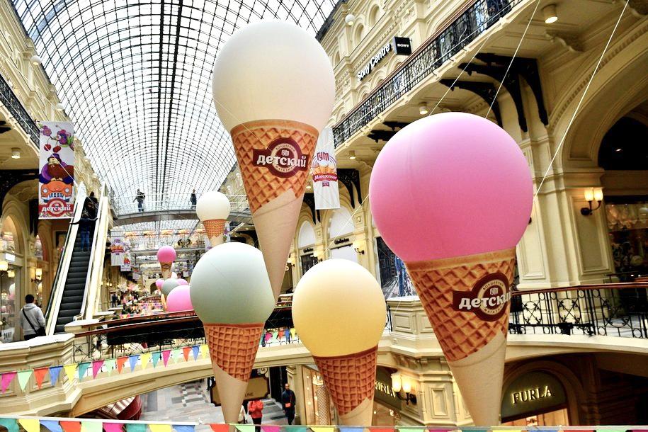 День мороженого в ГУМе посвятят медикам